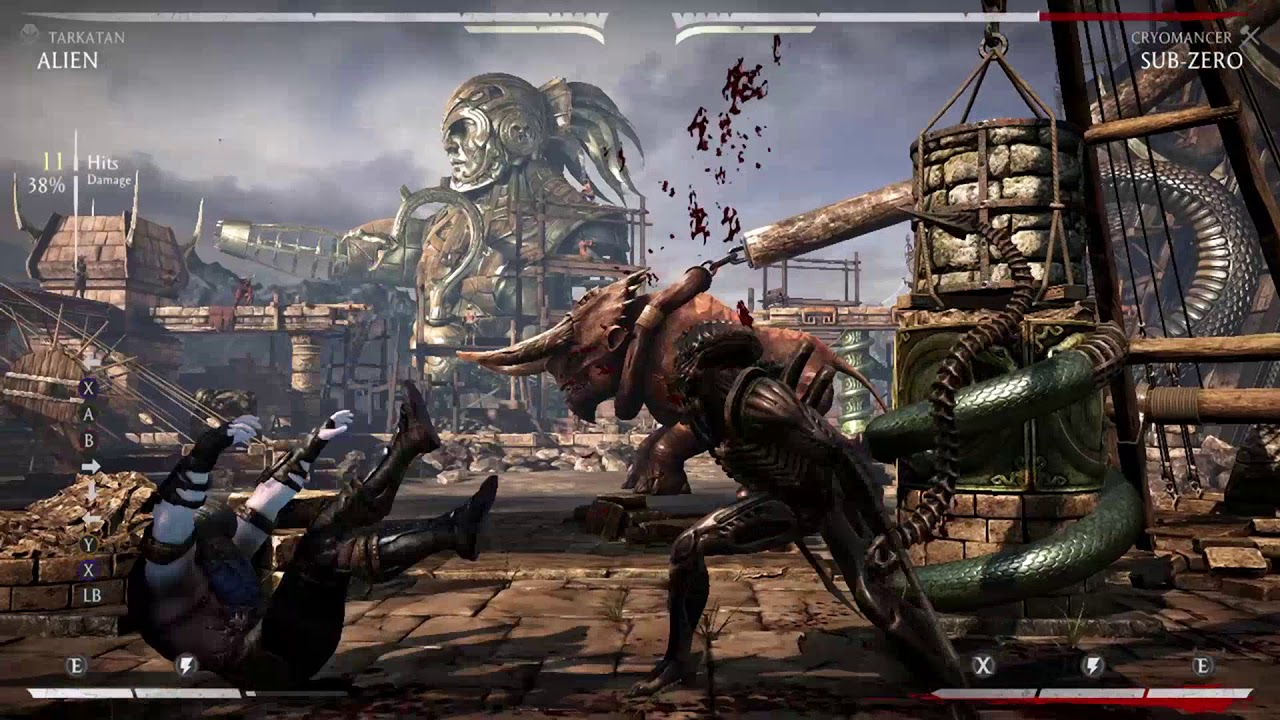 Alien Combos - Mortal Kombat X