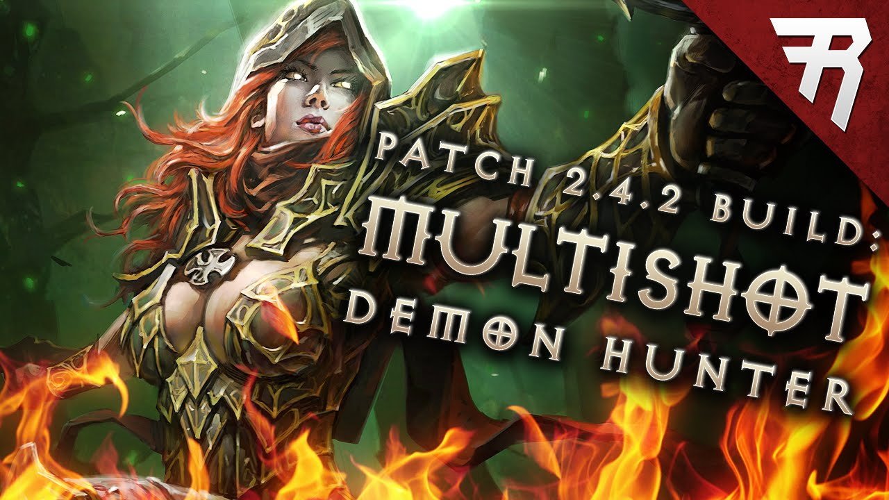 Diablo  Demon Hunter Multishot Build Season