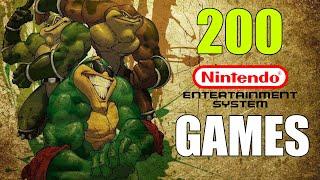200 NES GAMES (Alphabetical Order) VGL
