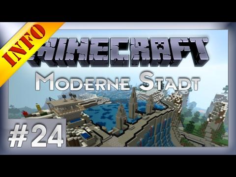 Minecraft Moderne Stadt #24  [German] [LPT]