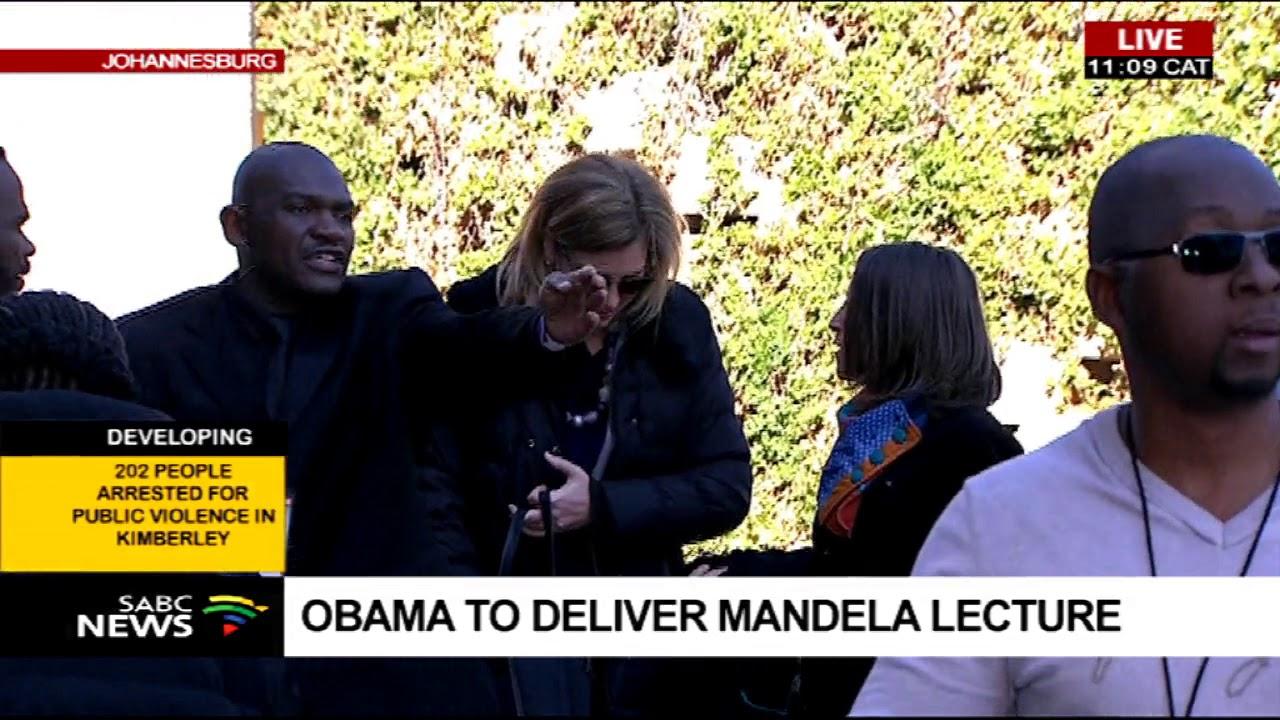 Former US president Barack Obama to deliver Mandela lecture
