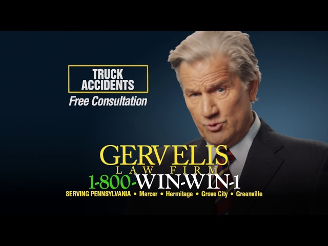Ohio truck accidents - Gervelis Law Firm, experienced attorneys protecting victims rights