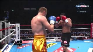 Badr Hari vs Alexey Ignashov K 1 World GP 2010, Yokohama, Japan