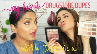 BEST DRUGSTORE DUPES FOR HIGH END PRODUCTS FT. DEEPICA (BROWN GIRL APPROVED!)