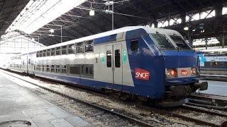 FR#128 - Matinée de circulations en gare de Paris-St-Lazare: IC TER Transilien - 24/09/16