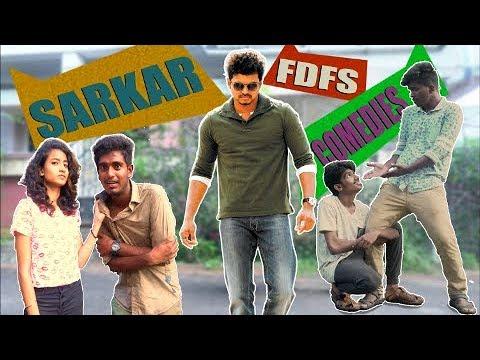 Sarkar FDFS Comedies - Thalapathy Vijay - Thug Lightu