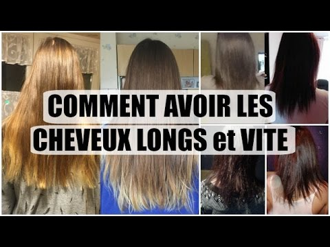 comment avoir les cheveux longs et vite photos avant apr s hairskinnails youtube. Black Bedroom Furniture Sets. Home Design Ideas