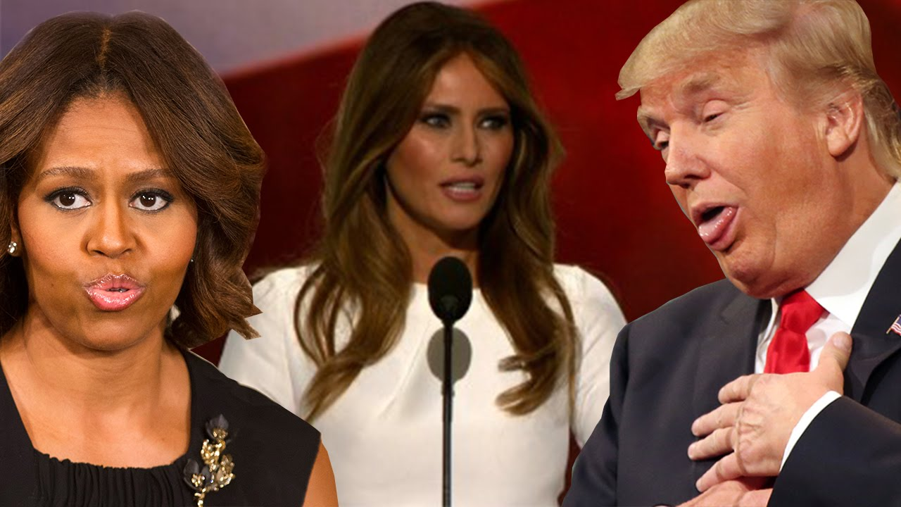 Donald Trumps Wife Just Stole An Entire Speech From -6142