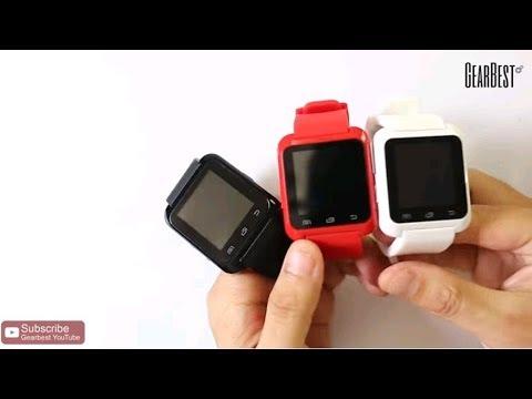 U80 Smart Bluetooth Watch - Gearbest.com