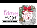 Christmas to Color - Adult Coloring Book Review
