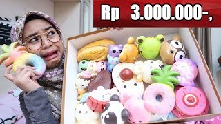 BELANJA SQUISHY SAMPAI Rp 3.000.000 ?! - Ria Ricis