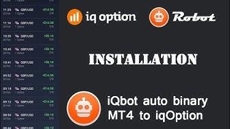 iq option autotrader robot binary options iQbot ( installation )