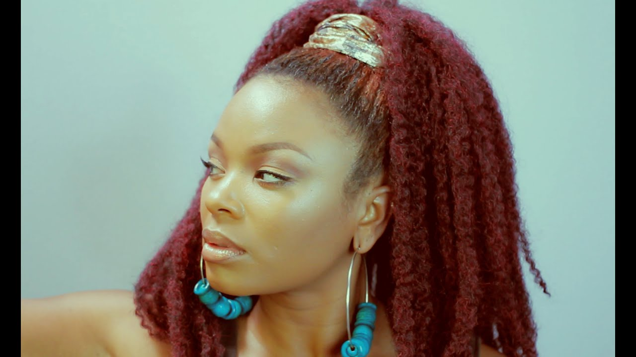 Jamaican Twist Hair Transformation Youtube