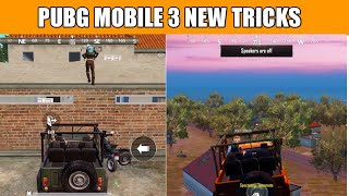 Pubg Mobile New Secret Top 3 Tips And Tricks | New Tips And Tricks Pubg Mobile