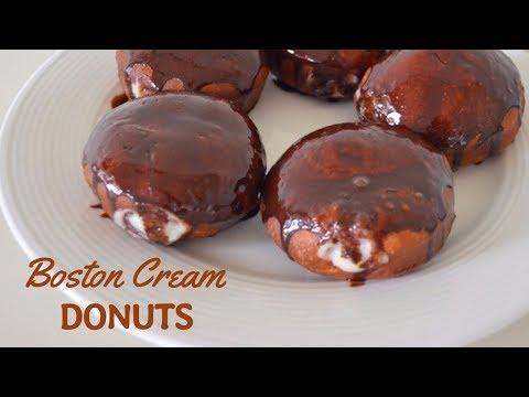 Boston Cream Donuts Recipe