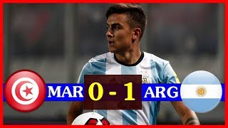 Morocco vs Argentina (0-1) All goals And highlights