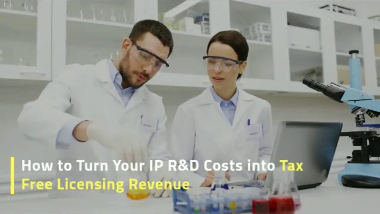 Free Workshop - How to Turn Your R&D Expenese Into Tax Free Licensing Revenue