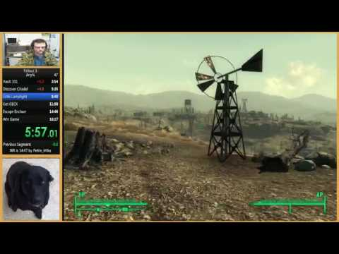 Fallout 3 Any% Speedrun In 16:10