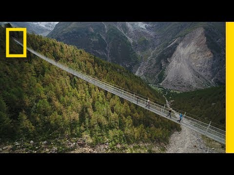 Could You Walk Across the World's Longest Pedestrian Suspension Bridge? | National Geographic