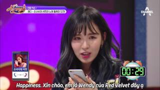 [VIETSUB] [Singderella.Show] 170224 Wendy's phonecall to Seohyun thumbnail