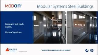 OPALON الجاهزة الحاويات الهيكل الصلب وحدات بناء MODON