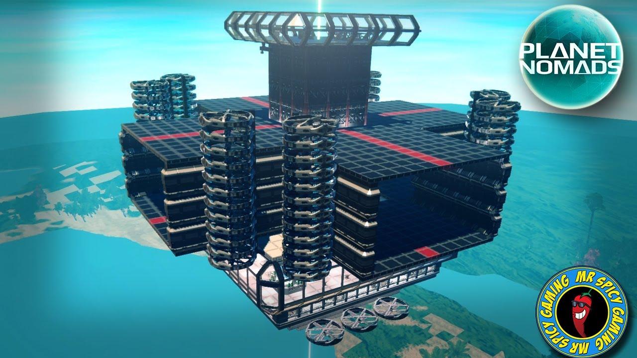 HACIENDO QUE LA ESTACIÓN SEA MÁS ALTA - Planet Nomads Gameplay S2 Ep51 + vídeo