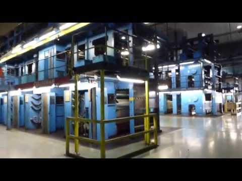 Toronto Star Vaughan Press Center - Largest Printing Operations In Canada