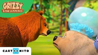 Гриззи и лемминги | Полярный медведь в лесу?! | Boomerang