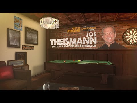 Former Notre Dame/Redskins QB Joe Theismann on The Dan Patrick Show | Full Interview | 11/10/17