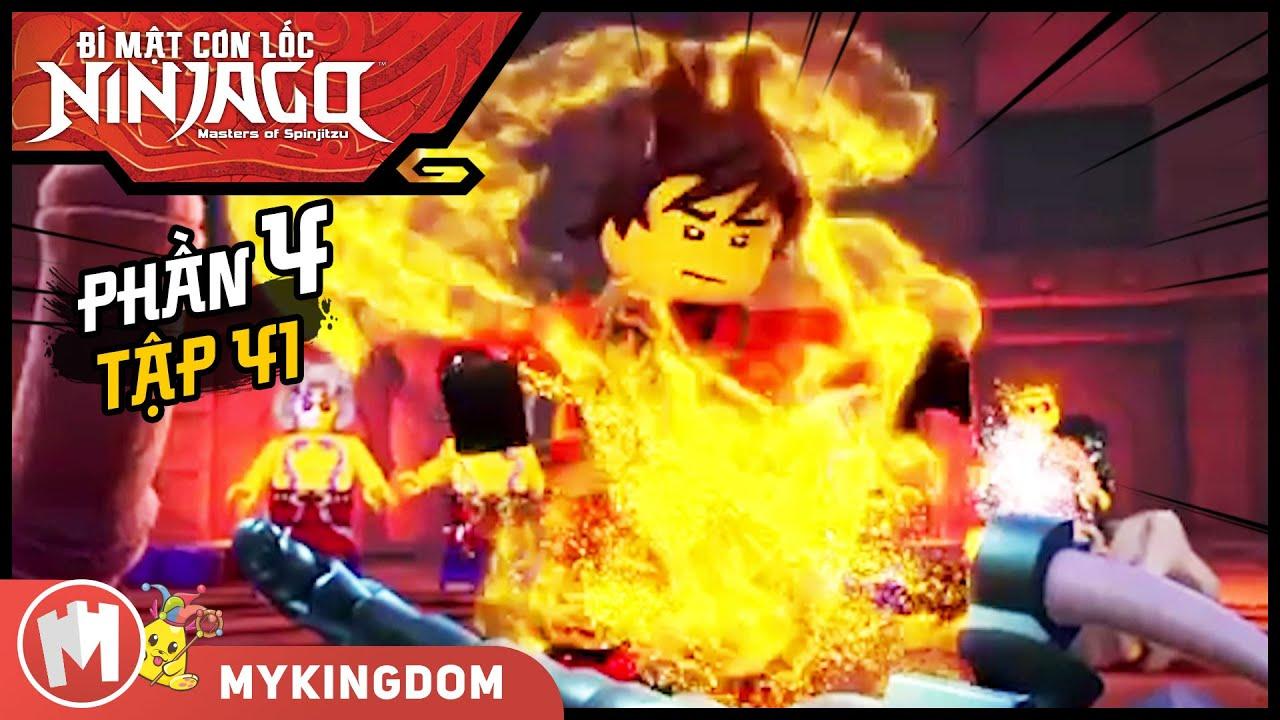 BÍ MẬT CƠN LỐC NINJAGO - Phần 4   Tập 41 : Năng lượng bất ngờ   LEGO NINJAGO  SEASON 4   phim hoat hinh ky bang ha 4
