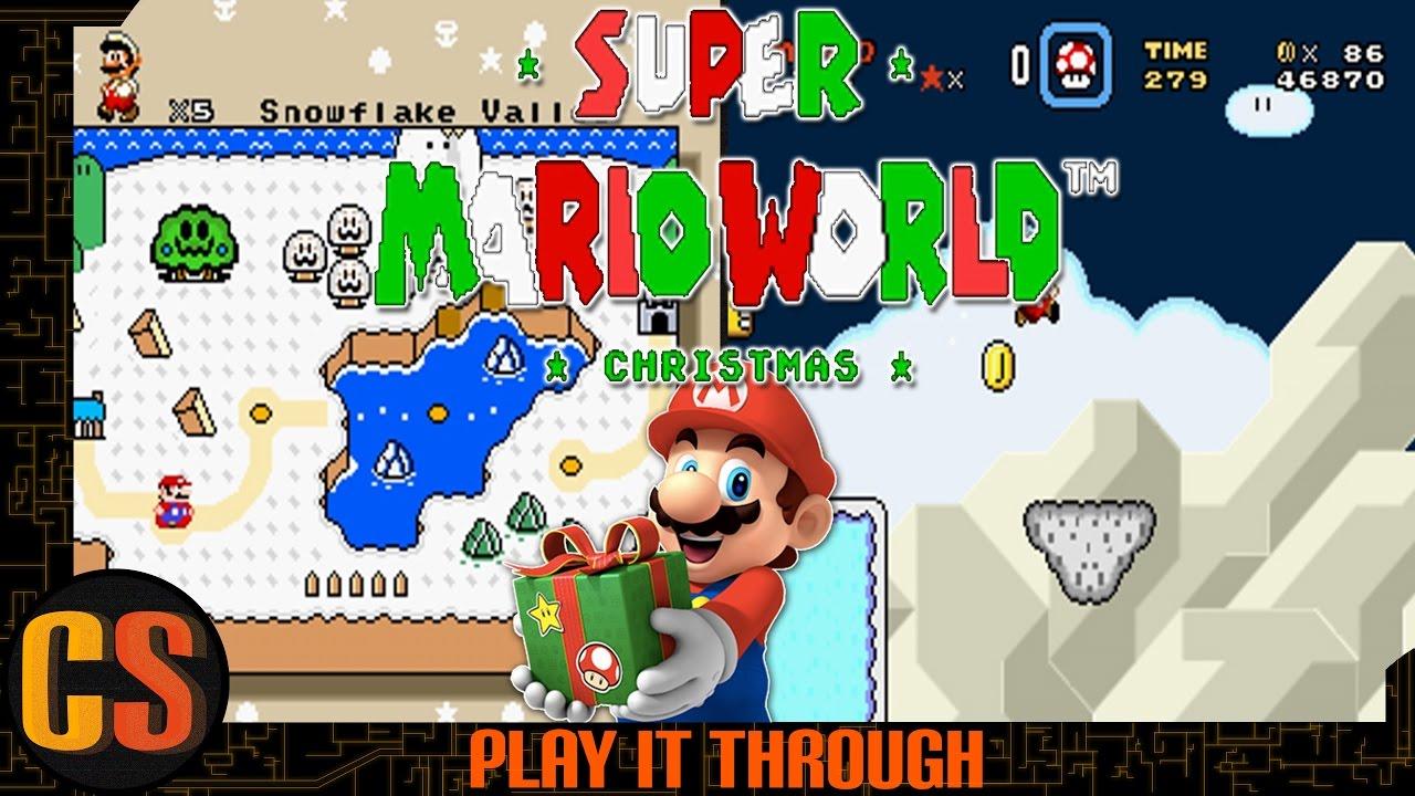 Super Mario World Christmas.Super Mario World Christmas Edition Play It Through