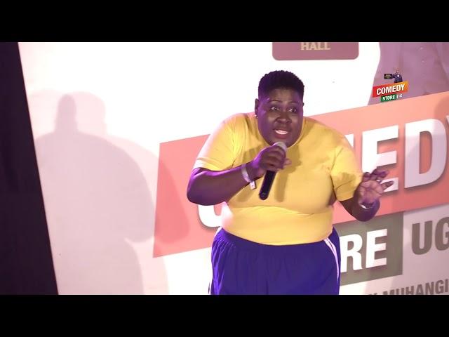 Alex Muhangi Comedy Store Sept 2019 - Annet Nanziri