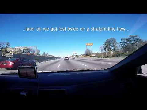Drive From Atlanta, GA to Tennessee Border