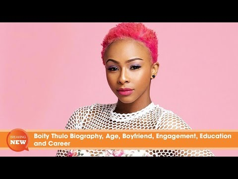 Boity Thulo Biography, Age, Boyfriend, Engagement, Education and Career