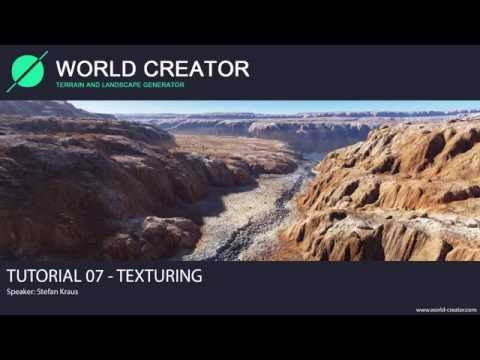 World Creator 2.2 for Unity - Tutorial 07 (Texturing)