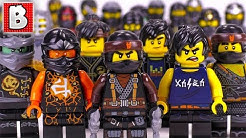 Every LEGO Cole Minifigure EVER MADE!!! | Ninjago 2018 Collection Update