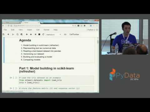 Kevin Markham | Machine Learning with Text in scikit learn