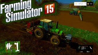 Willkommen auf dem Land - Landwirtschafts Simulator 15 #1