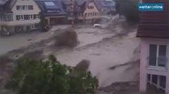 wetteronline.de: Reißende Fluten in Braunsbach (30.05.2016)