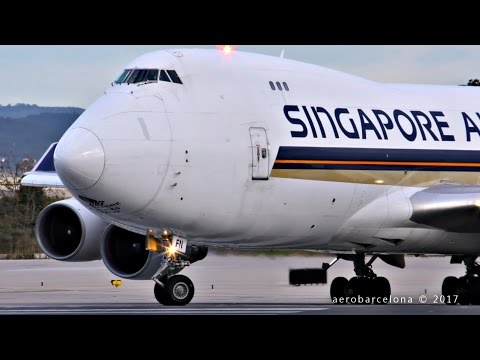 [FULL HD] Singapore Airlines Cargo 744F