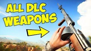 BATTLEFIELD 1 All DLC Weapons Showcase