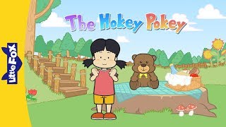 The Hokey Pokey | Nursery Rhymes | Action | Little Fox | Animated Songs for Kids
