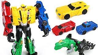 Transformers Combiner Force 4 combine Ultra Bee: Bumblebee, Grimlock, Strongarm - DuDuPopTOY
