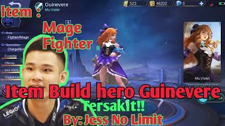 Item Build Guinevere - Best Build Items ter OP By JessNoLimit | Mobile Legends Indonesia