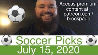 Soccer Picks 7 15 20 English Premier League Italy Serie A Football Portugal Liga