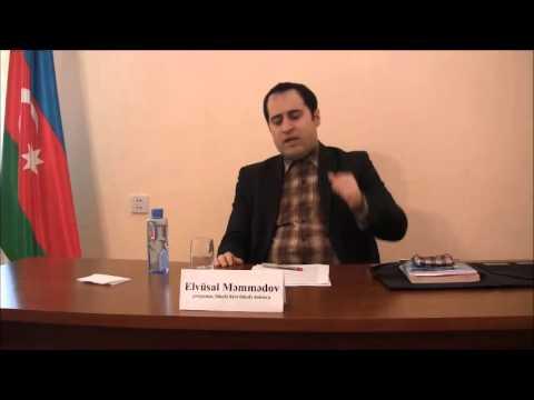 Fəl.ü.f.d. Elvüsal Məmmədov - Peyğəmbərimizin (s.a.s.)  təhsil və təlim metodikası