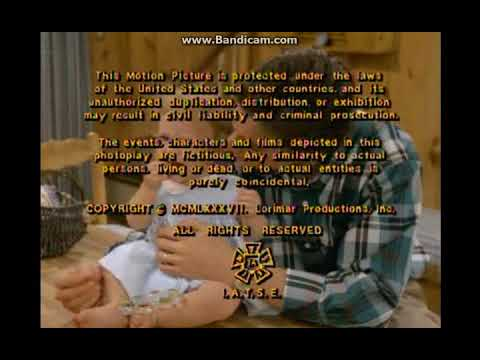 Full House TV Series 1987&x20131995;  End Credits