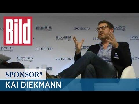 "Kai Diekmann im Talk ""Bild, Bundesliga, Bezahlschranke: Kai Diekmann spricht Klartext"" | SpoBiS 2015"
