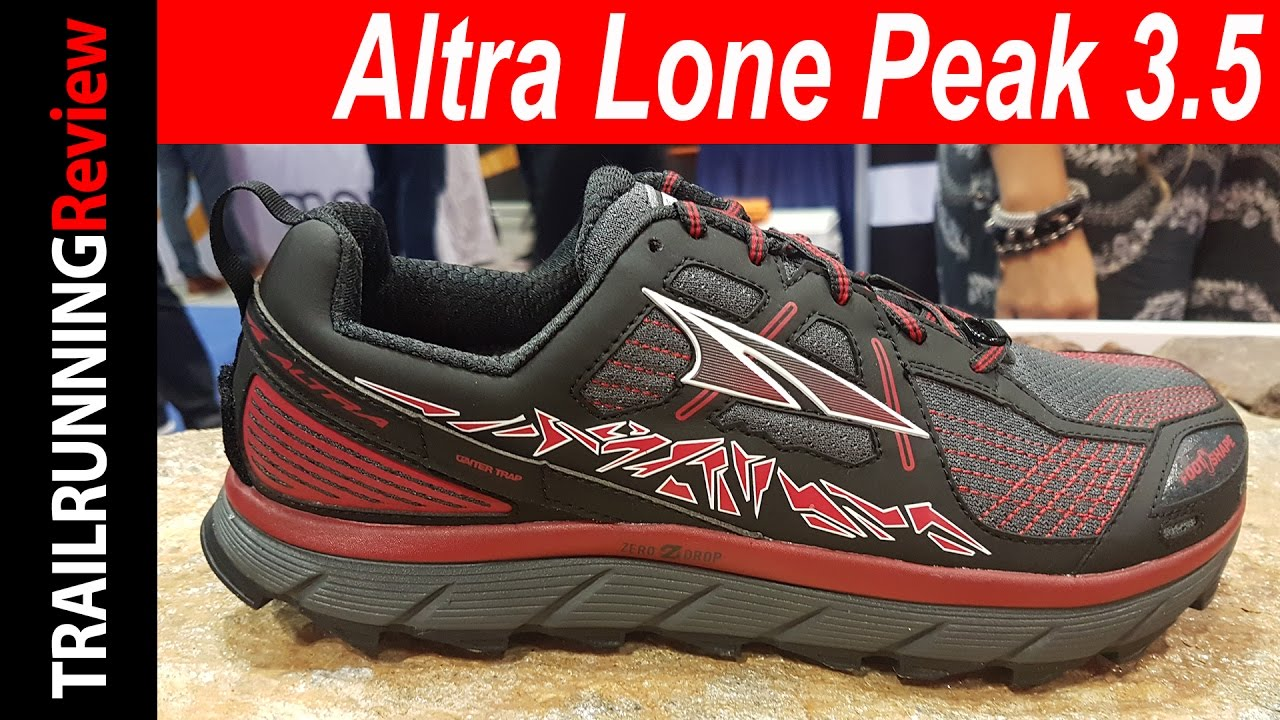 Altra Lone Peak 3.5 Preview - YouTube