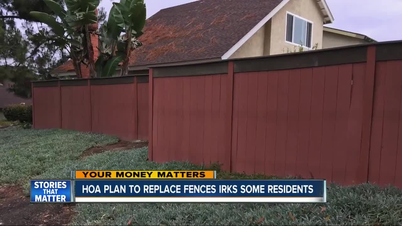 Residents Say Hoa S Fence Plan Costing Them Youtube
